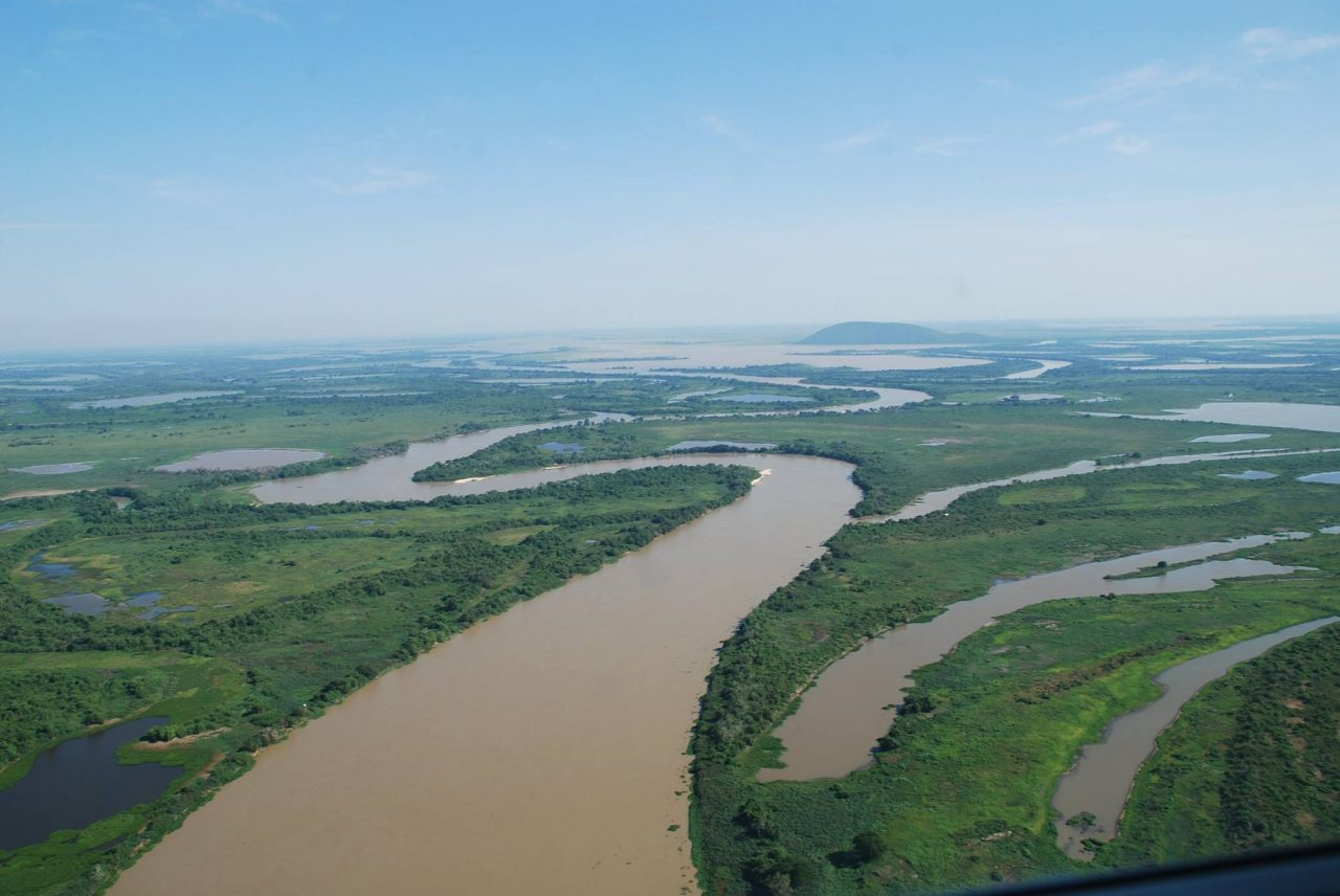 Paraguay River On A Map, Test, Paraguay River On A Map